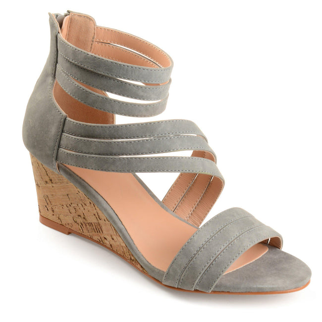 LOKI Shoes Journee Collection Grey 5.5
