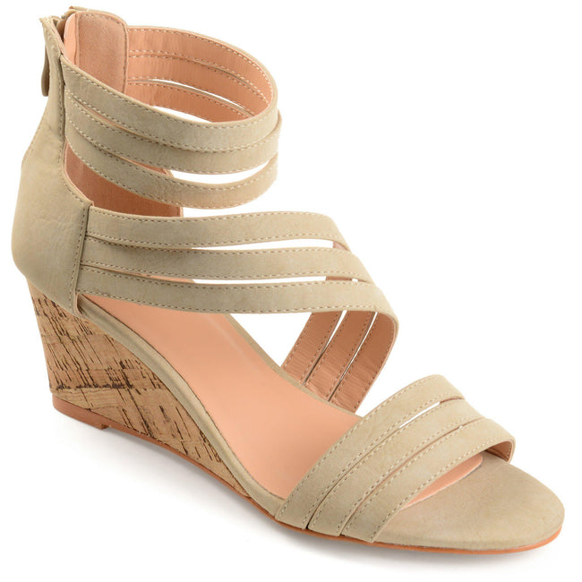 LOKI Shoes Journee Collection Taupe 5.5