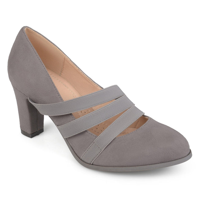 LOREN Shoes Journee Collection Grey 5.5