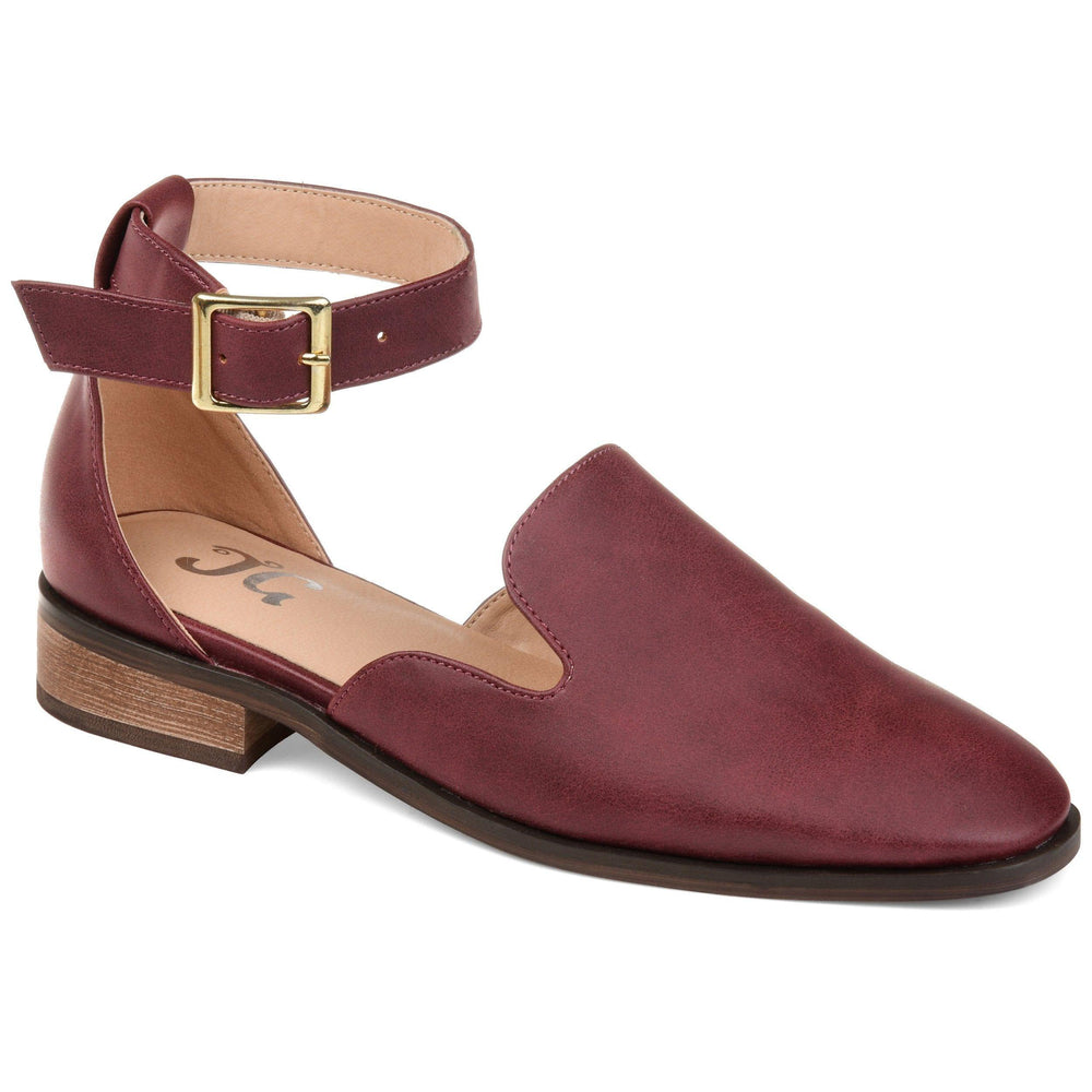 LORETA SHOES Journee Collection Wine 5.5