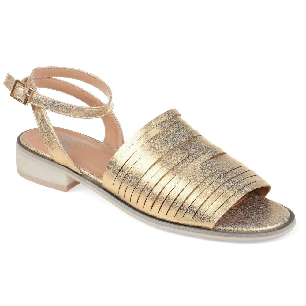 LOUISE Shoes Journee Collection Gold 5.5