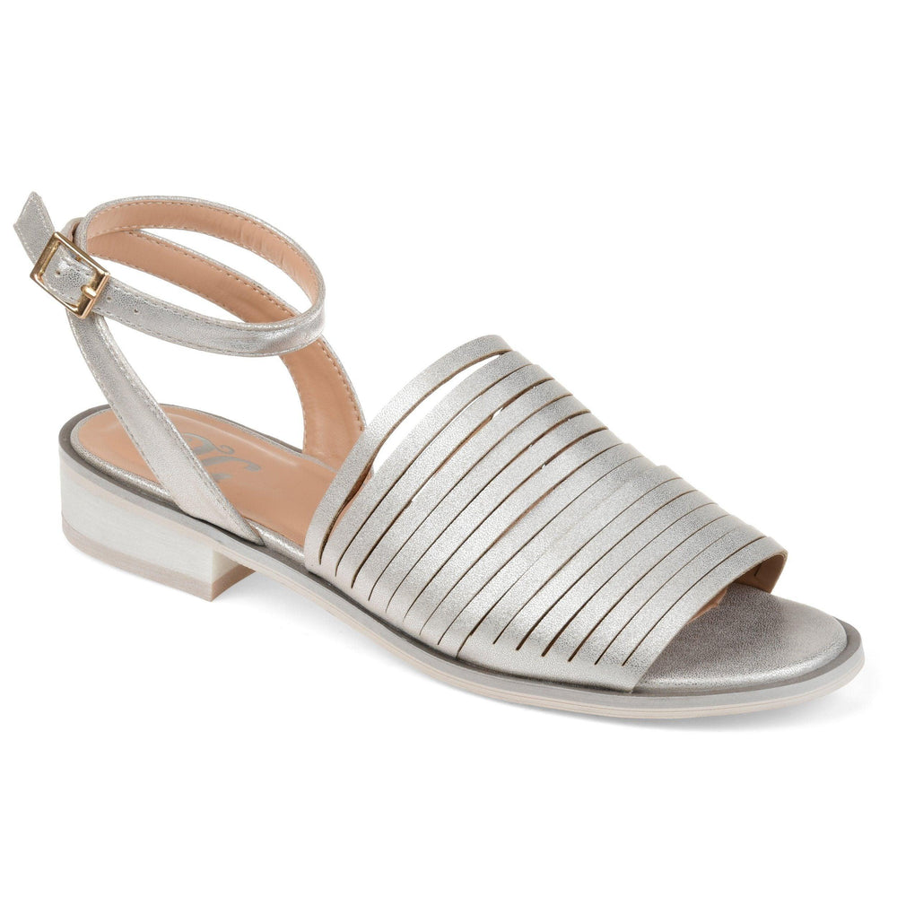 LOUISE Shoes Journee Collection Silver 5.5