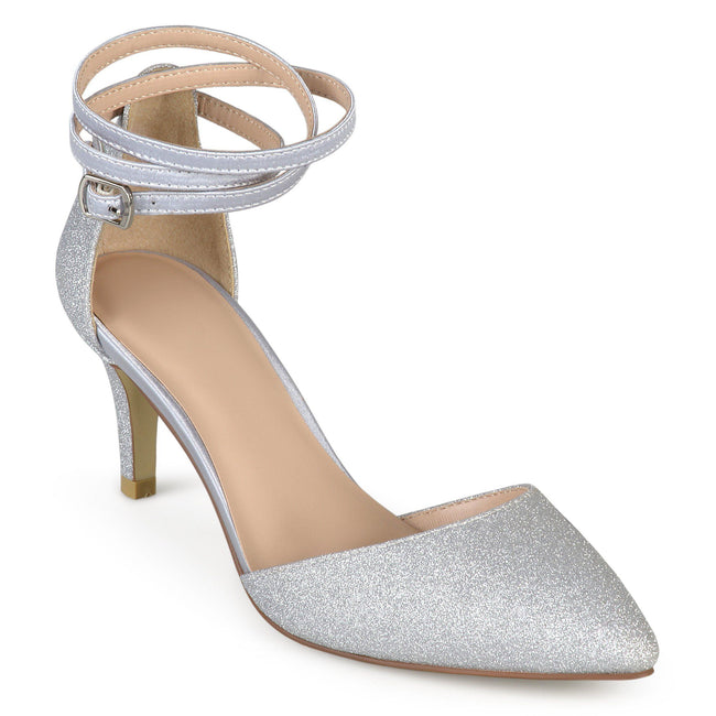 LUELA Shoes Journee Collection Silver 6