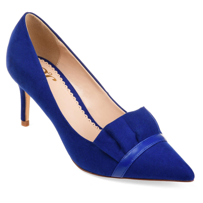 MAREK Shoes Journee Collection Blue 5.5