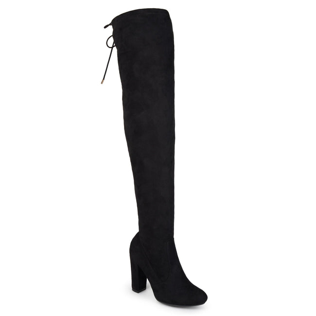 MAYA WIDE CALF Journee Collection Black 6