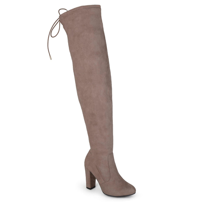 MAYA WIDE CALF Journee Collection Taupe 6