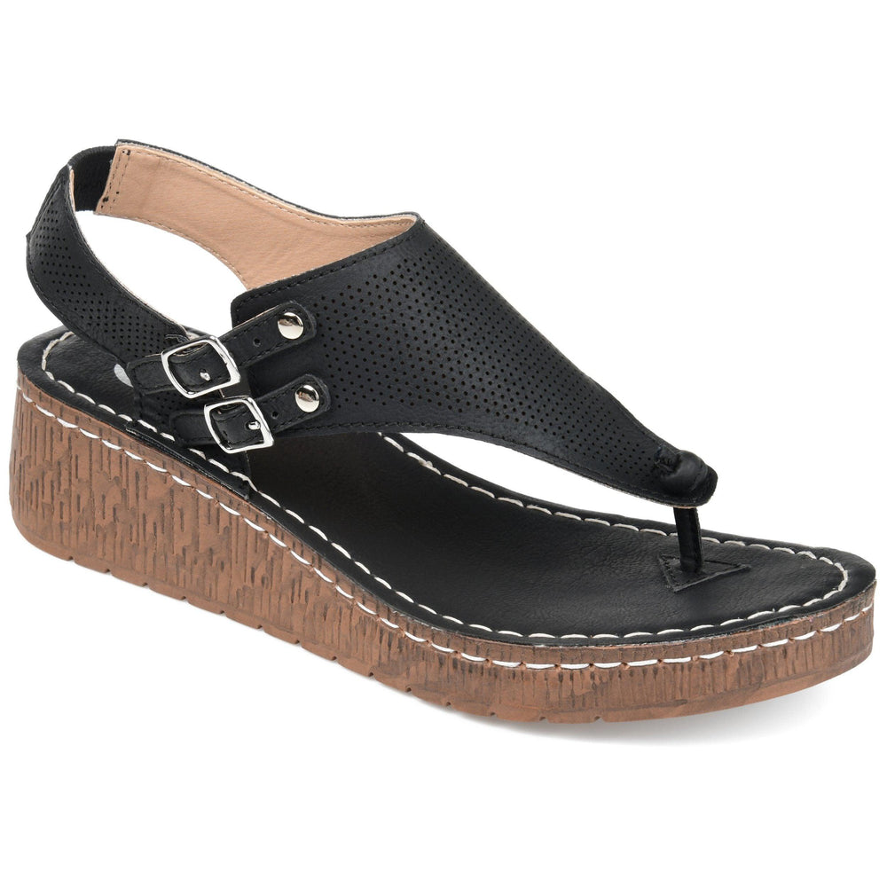MCKELL Sandals Journee Collection Black 7