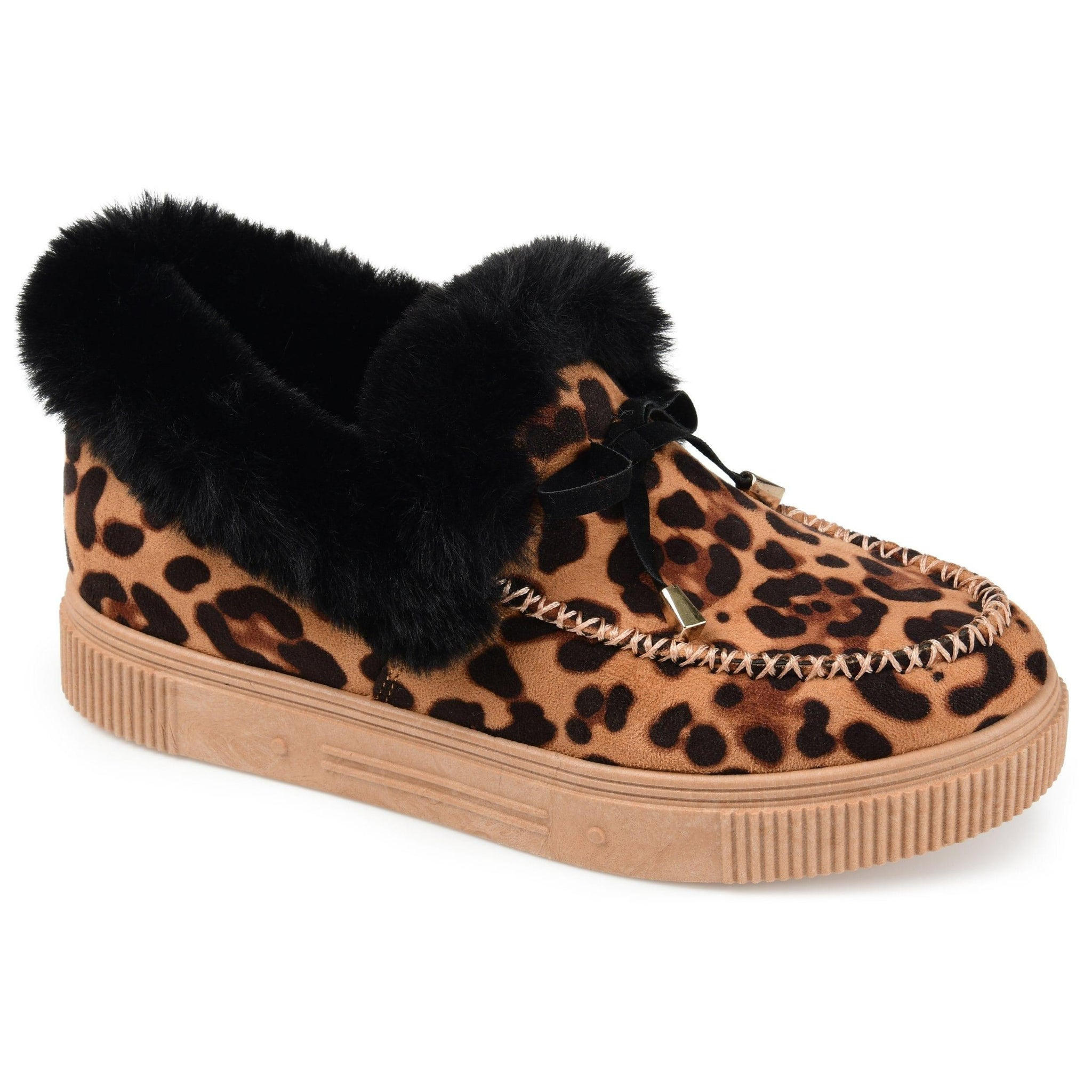 MIDNIGHT SHOES Journee Collection Leopard 9