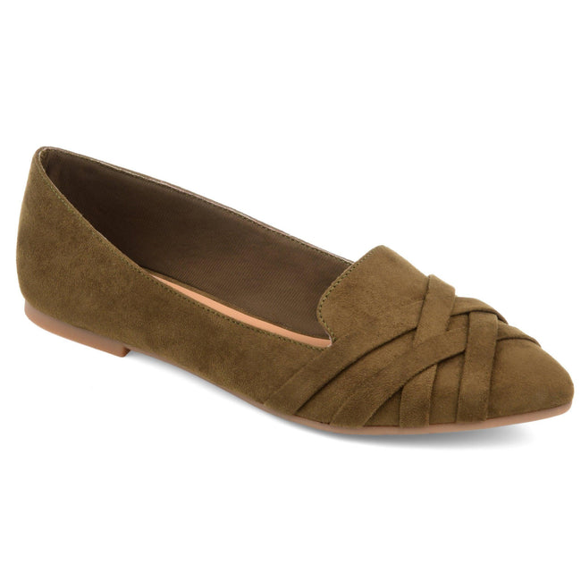 MINDEE Shoes Journee Collection Olive 5.5