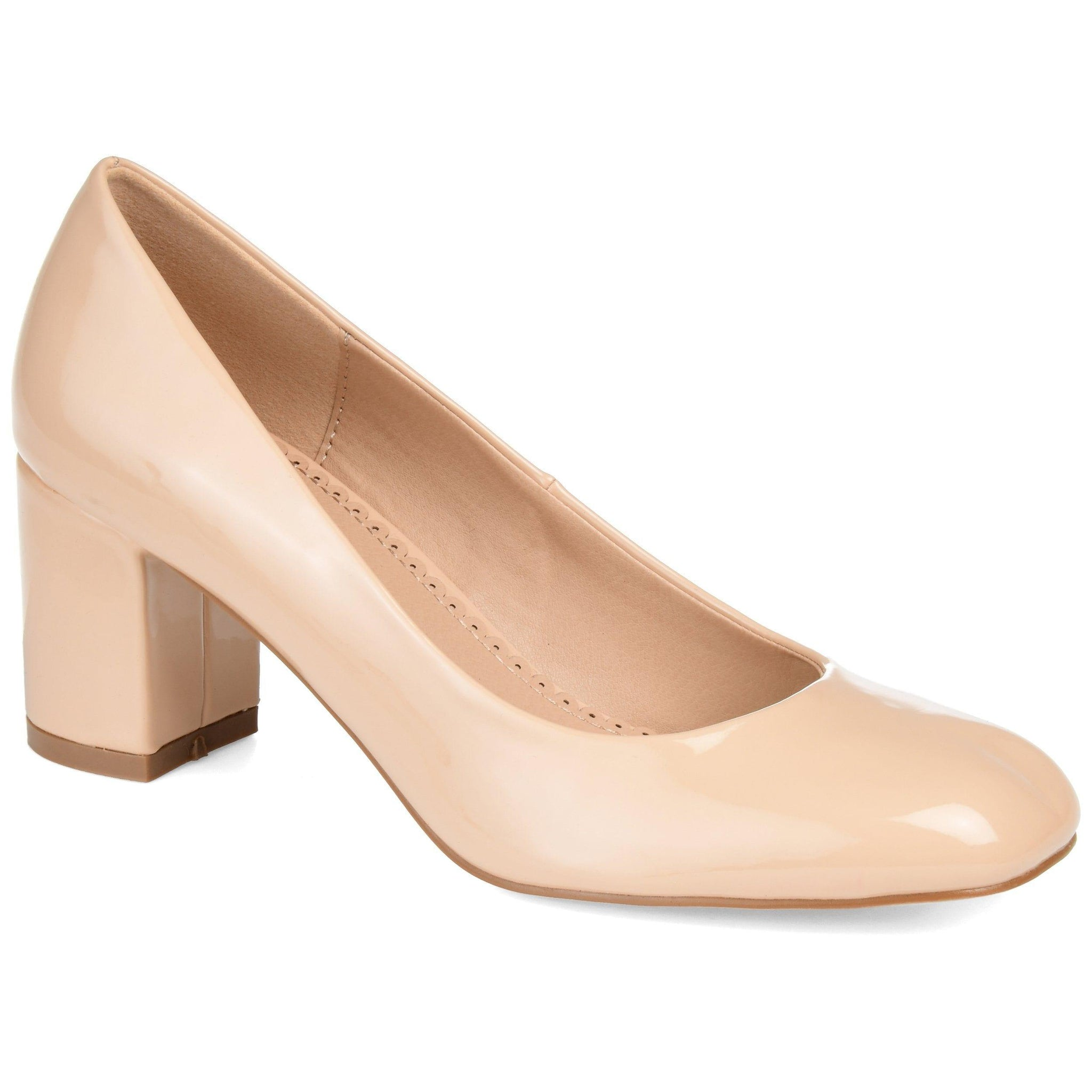 MIRANDA Shoes Journee Collection Nude 5.5