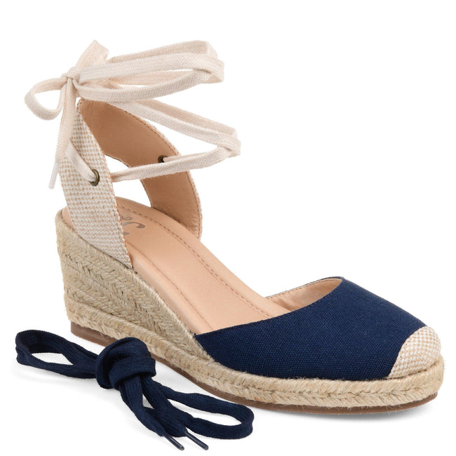 MONTE Shoes Journee Collection Blue 5.5