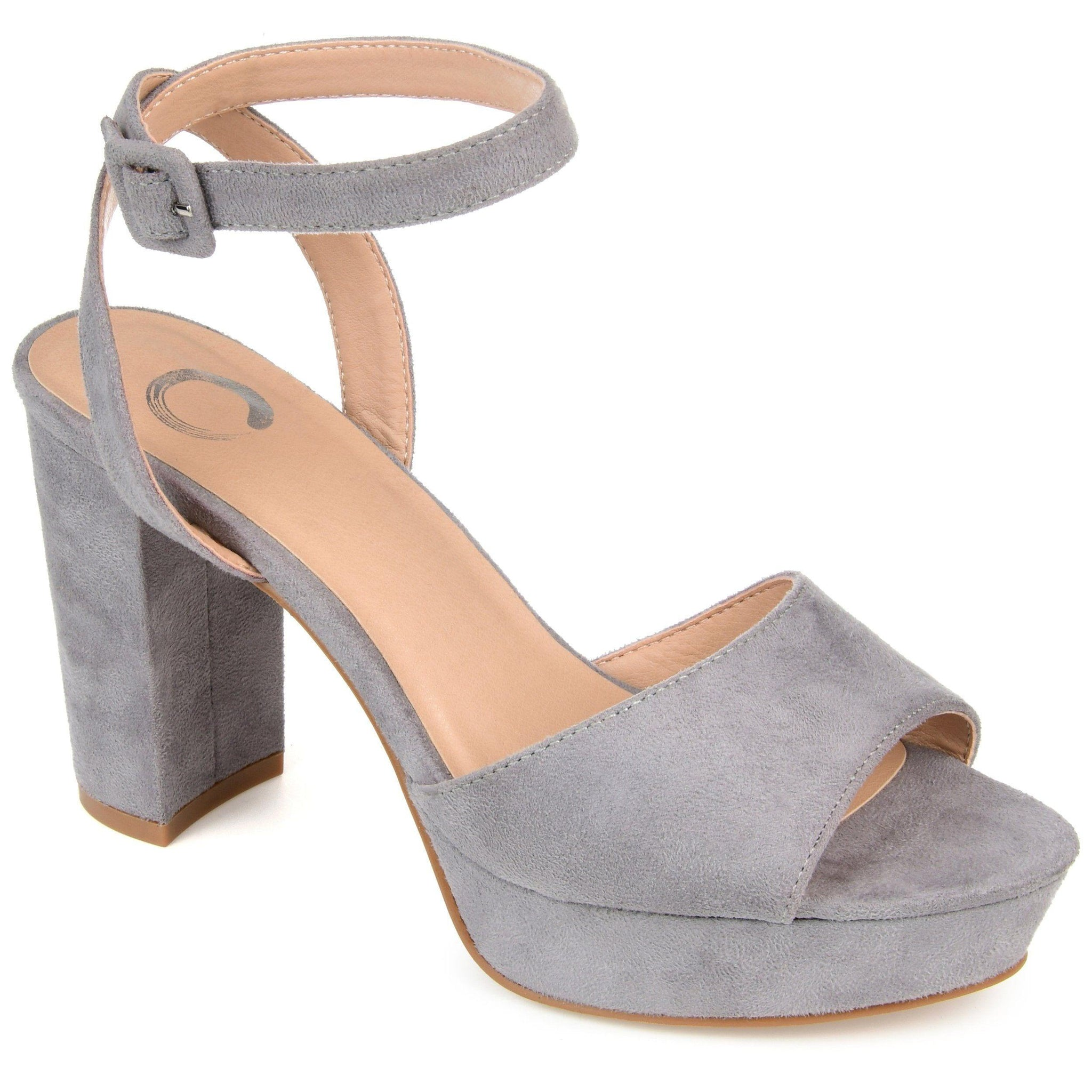 NAIRRI SHOES Journee Collection Grey 7.5