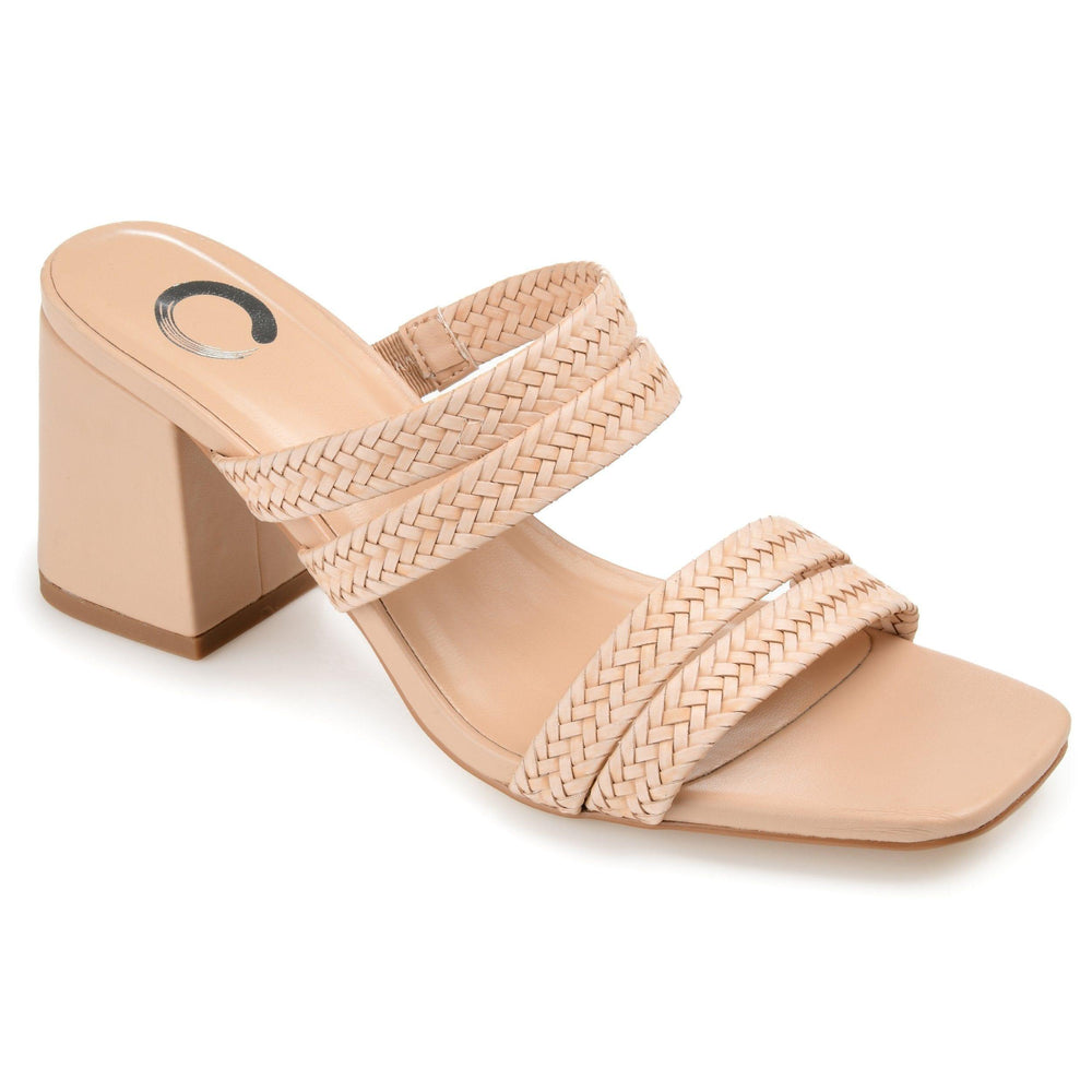 NATIA SHOES Journee Collection Tan 7.5