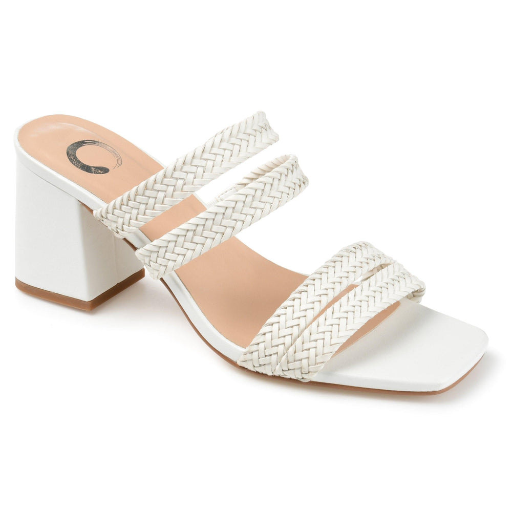 NATIA SHOES Journee Collection White 8