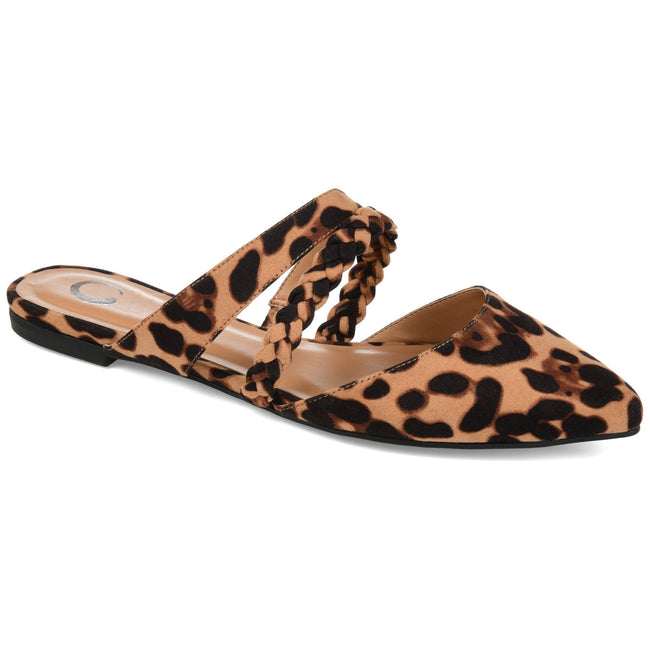 OLIVEA Shoes Journee Collection Leopard 5.5