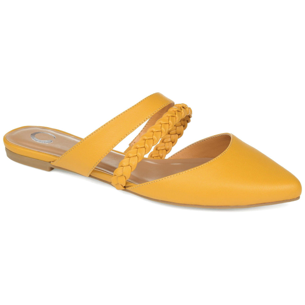 OLIVEA Shoes Journee Collection Mustard 5.5