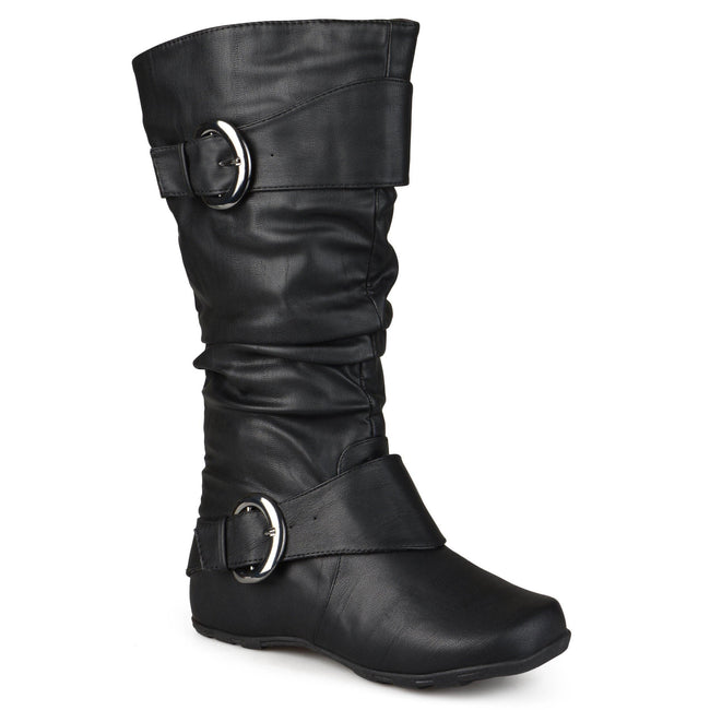 PARIS EXTRA WIDE CALF Journee Collection Black 7