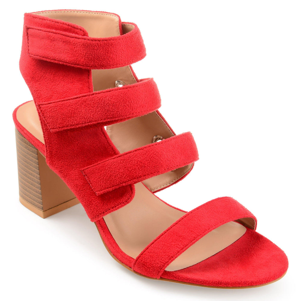 PERKIN Shoes Journee Collection Red 5.5