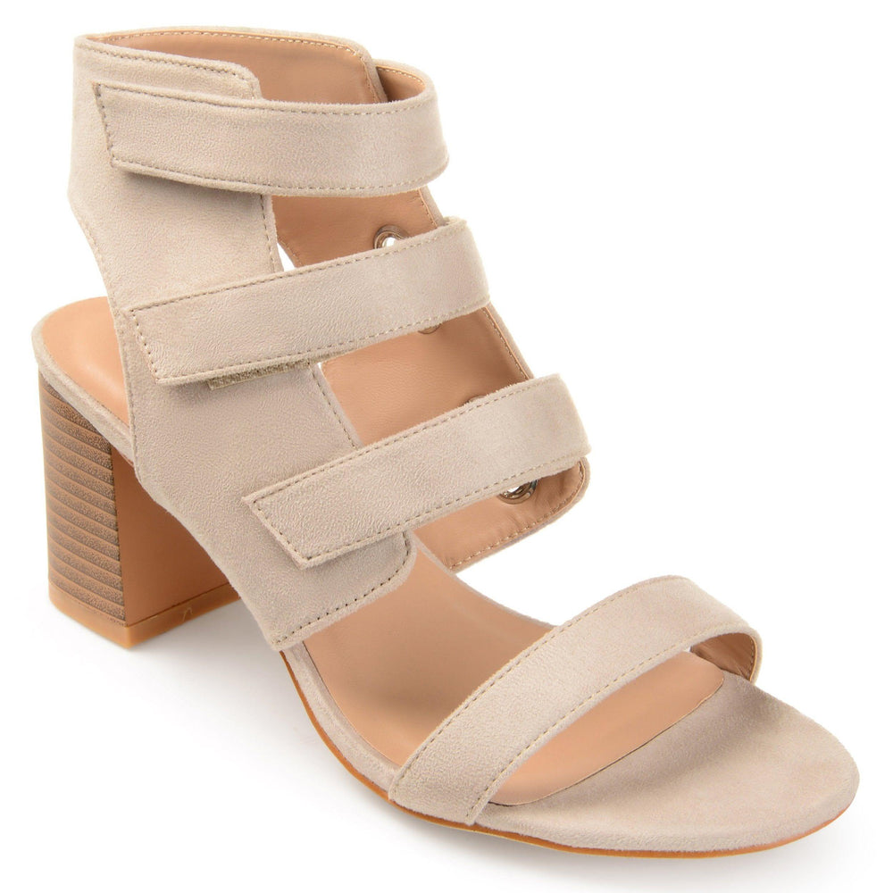 PERKIN Shoes Journee Collection Taupe 5.5