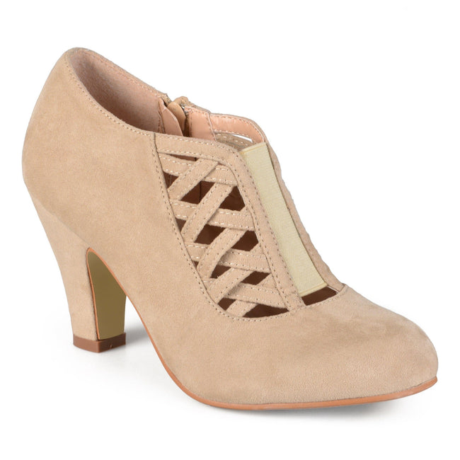 PIPER Shoes Journee Collection Taupe 6