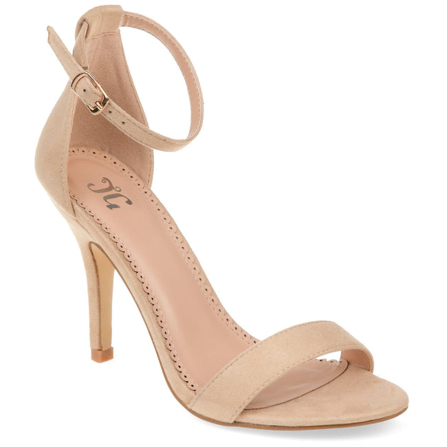 POLLY Shoes Journee Collection Nude 5.5