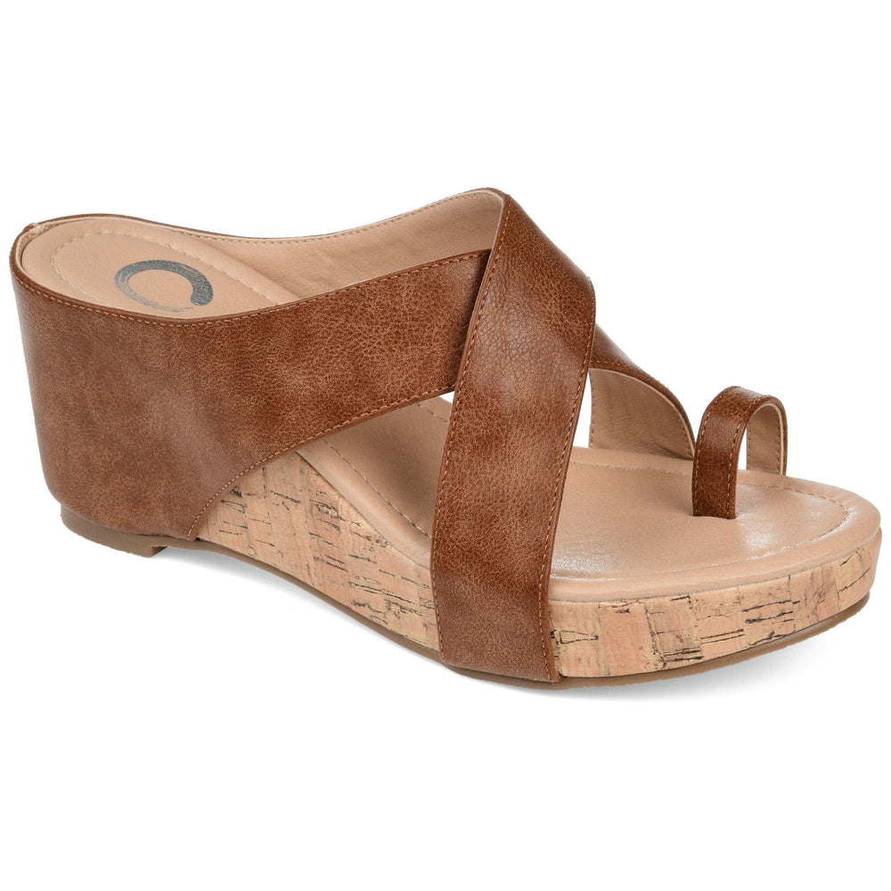 RAYNA Shoes Journee Collection Brown 8