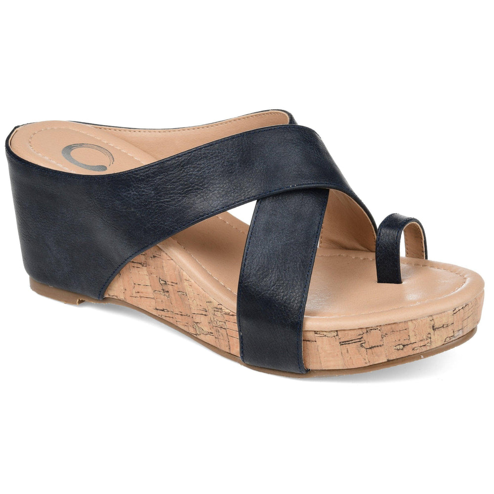 RAYNA Shoes Journee Collection Navy 8.5
