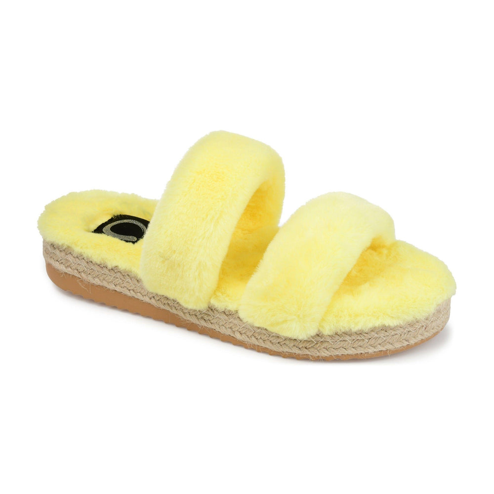 RELAXX SHOES Journee Collection Yellow 10