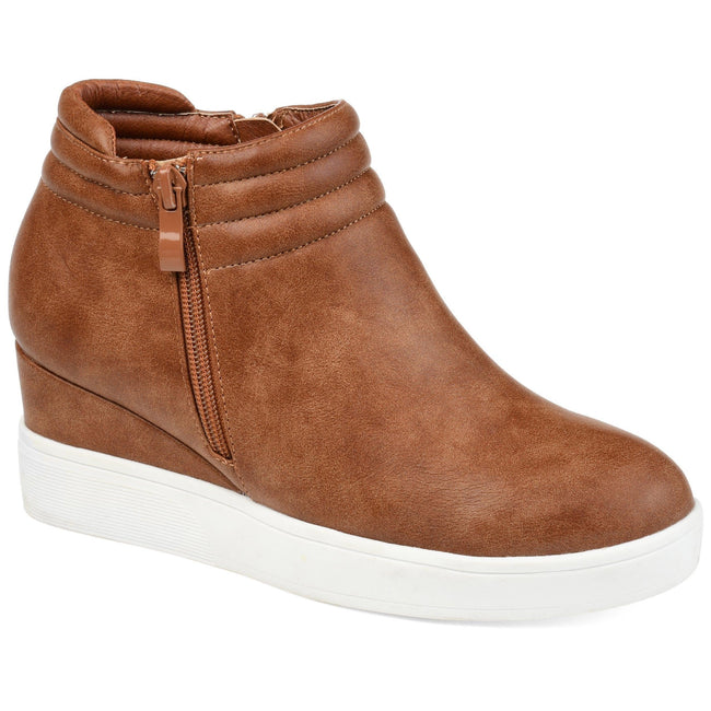 REMMY Shoes Journee Collection Brown 5.5