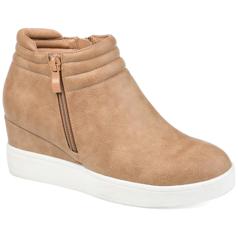 REMMY Shoes Journee Collection Tan 5.5