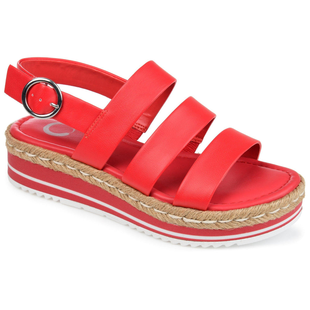 ROBYN SHOES Journee Collection Red 6