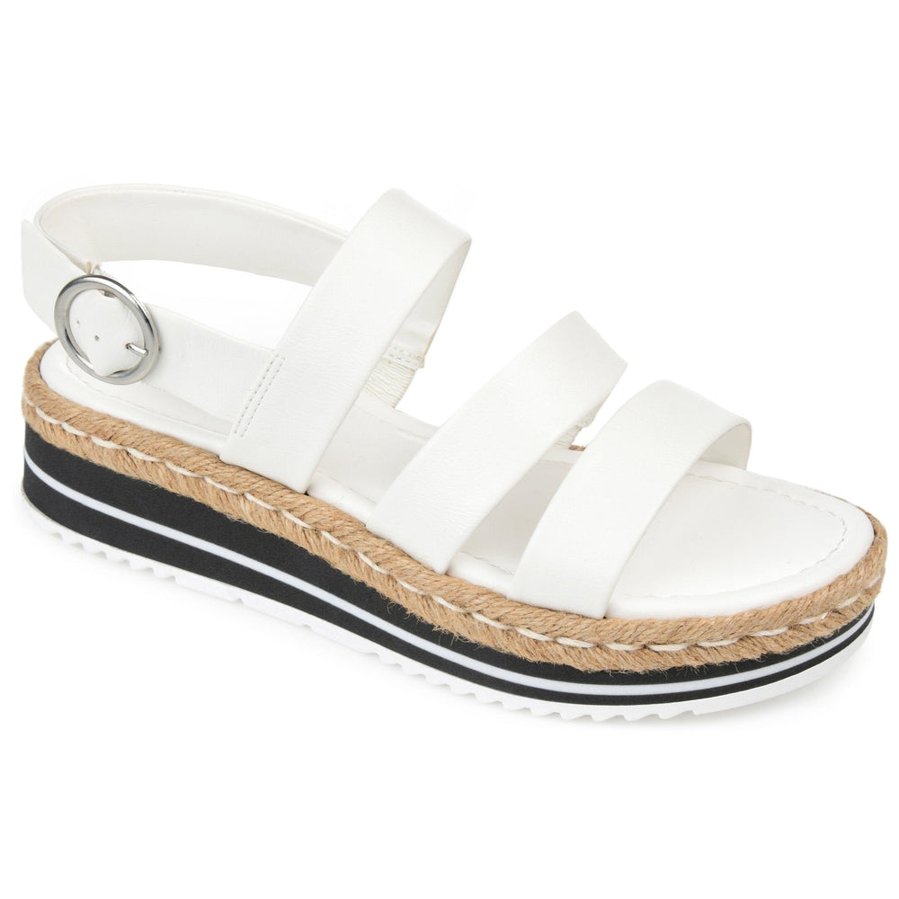 ROBYN SHOES Journee Collection White 8