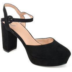 ROSLYNN SHOES Journee Collection Black 8.5