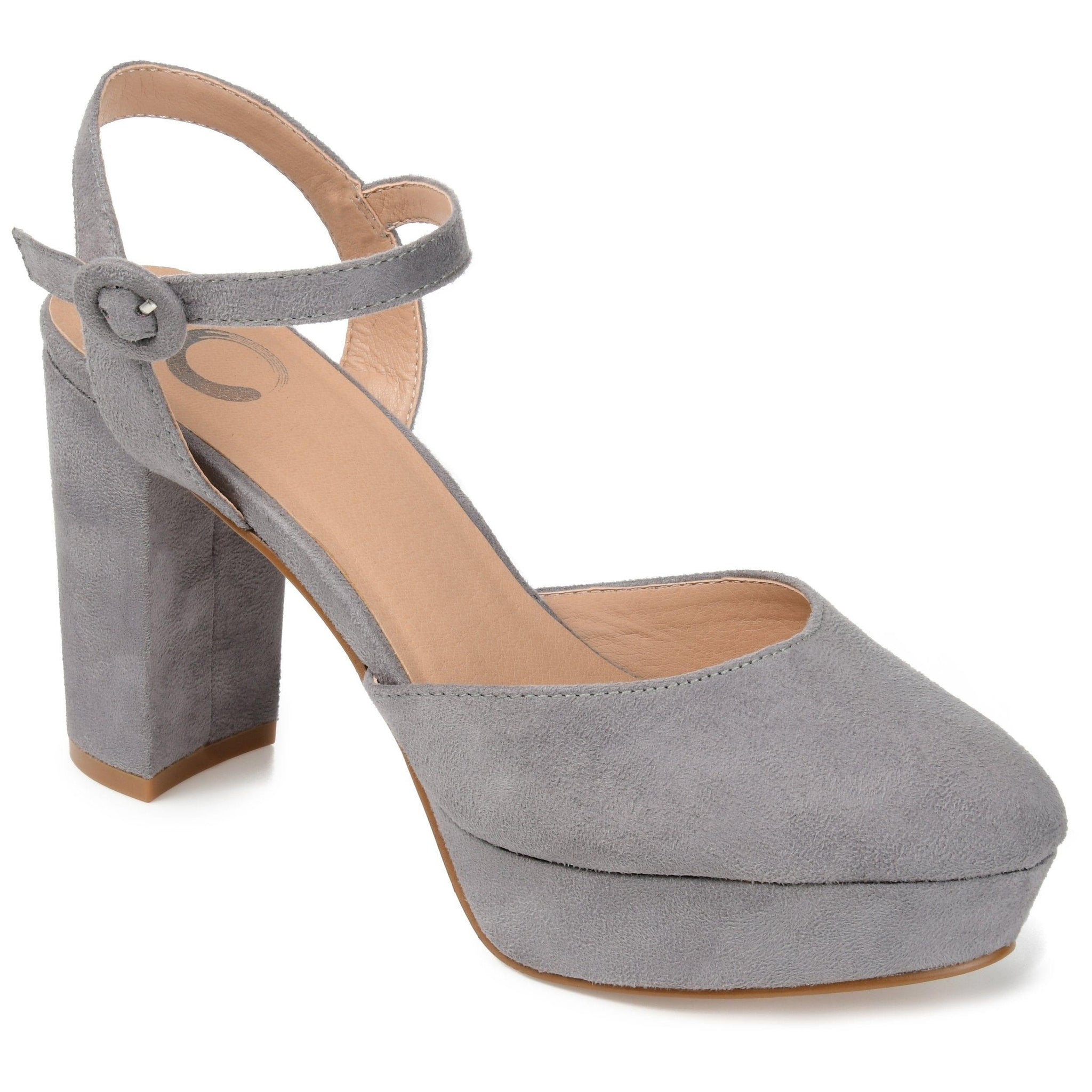 ROSLYNN SHOES Journee Collection Grey 7