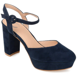 ROSLYNN SHOES Journee Collection Navy 12