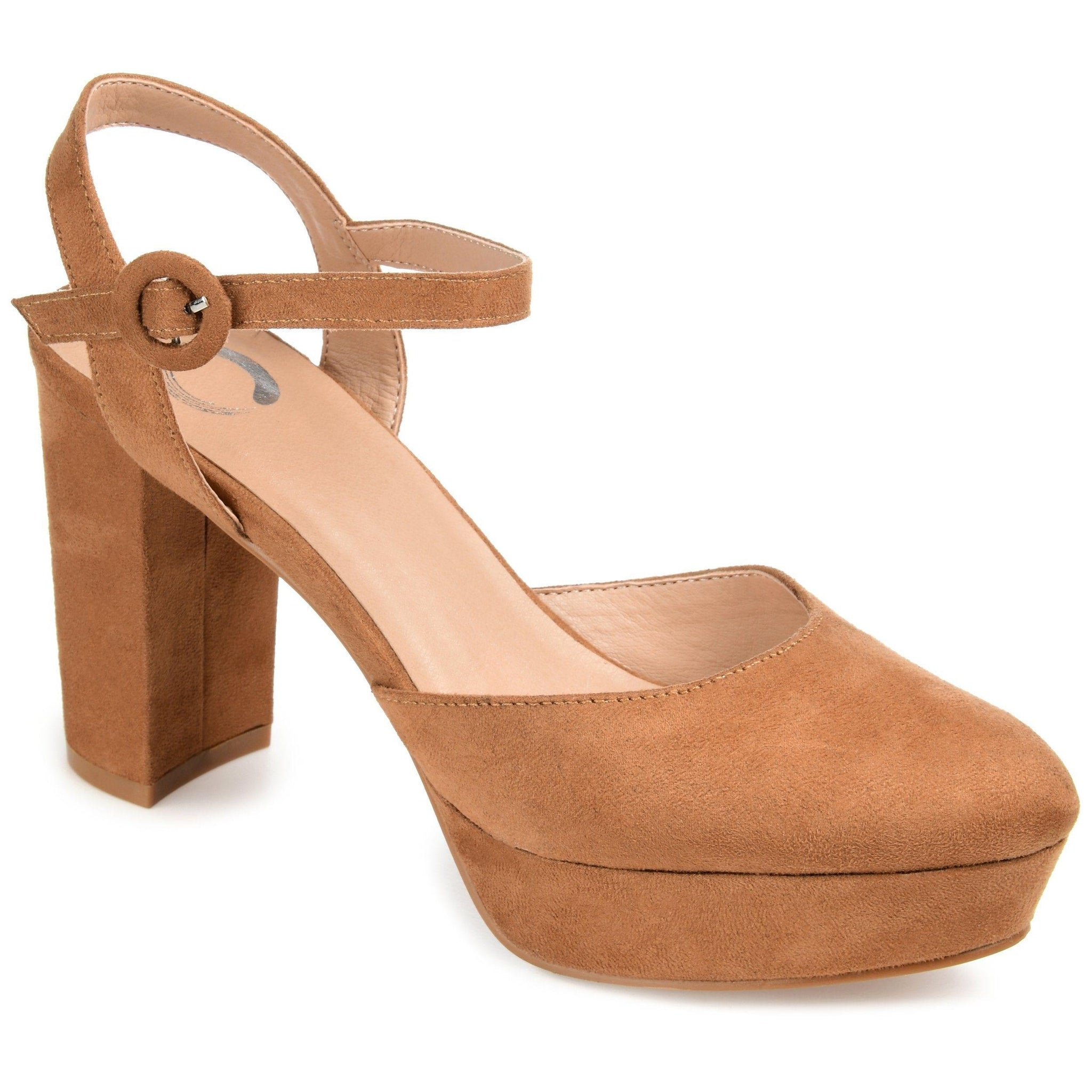 ROSLYNN SHOES Journee Collection Tan 10