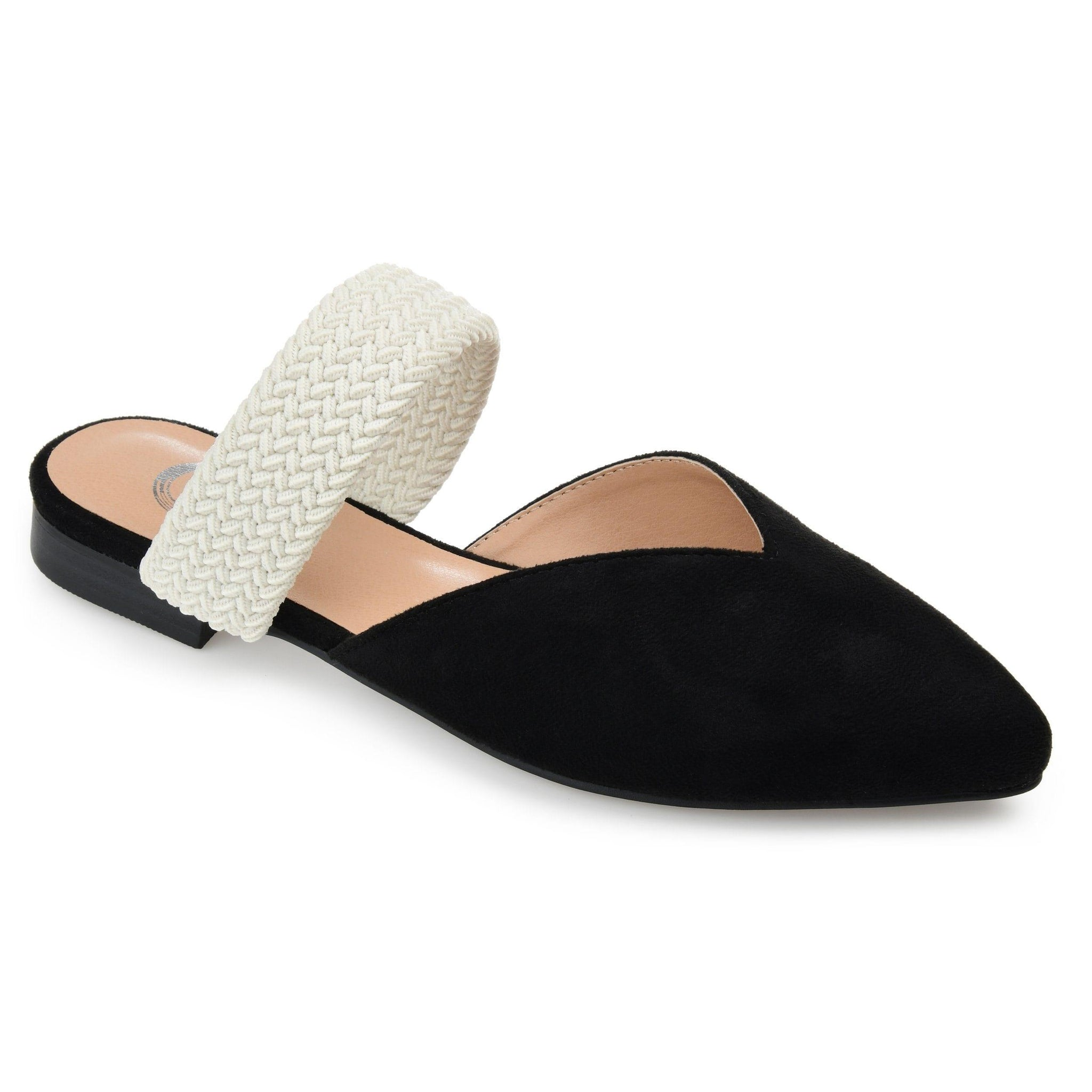 ROXEENE SHOES Journee Collection Black 6.5
