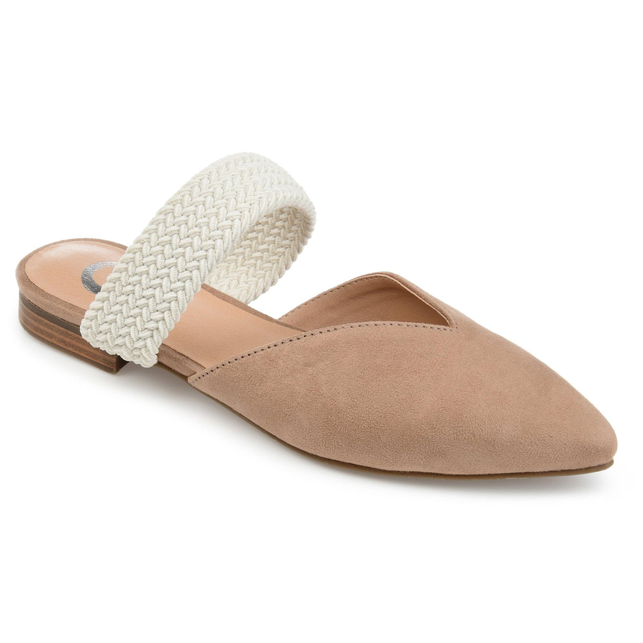 ROXEENE SHOES Journee Collection Taupe 8
