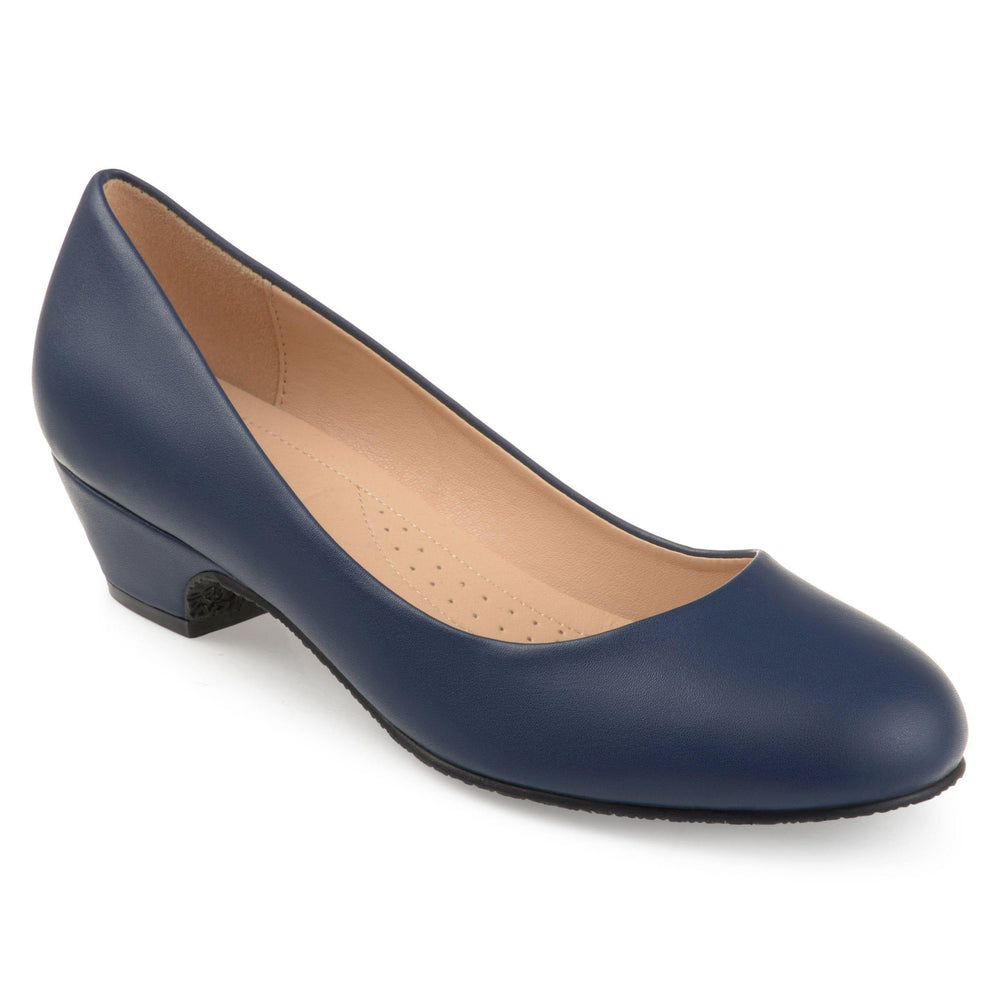 SAAR Shoes Journee Collection Navy 5.5