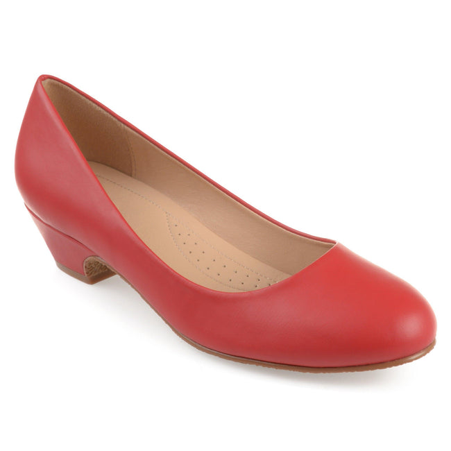 SAAR Shoes Journee Collection Red 5.5