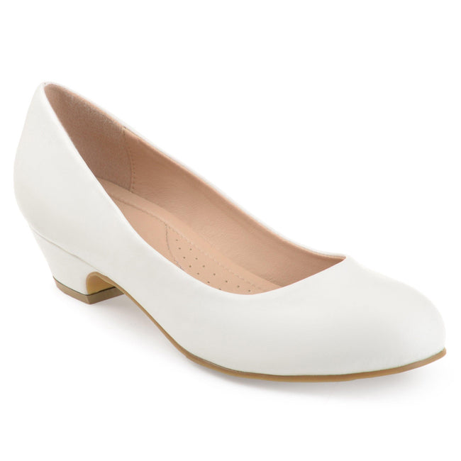 SAAR Shoes Journee Collection White 5.5