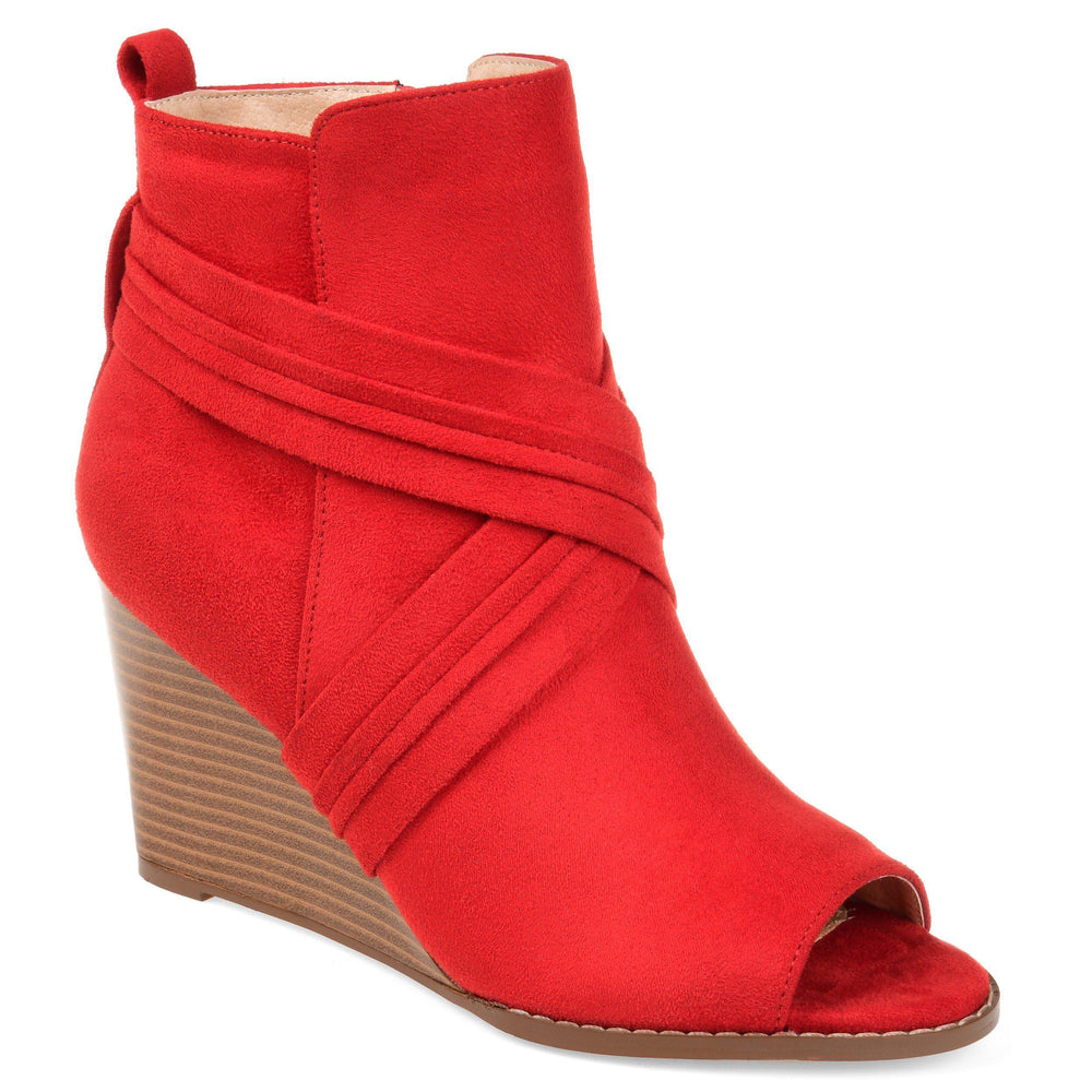 SABEENA Shoes Journee Collection Red 5.5