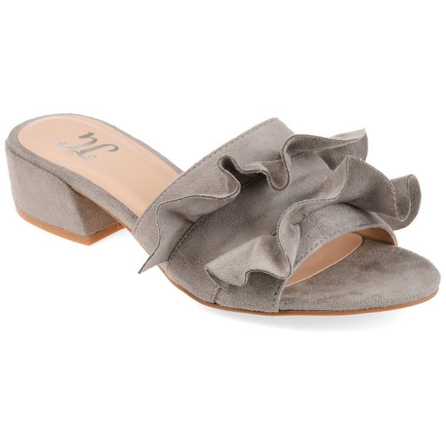 SABICA Shoes Journee Collection Grey 5.5