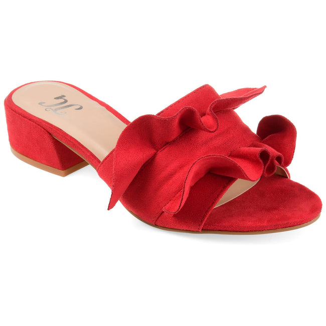 SABICA Shoes Journee Collection Red 5.5