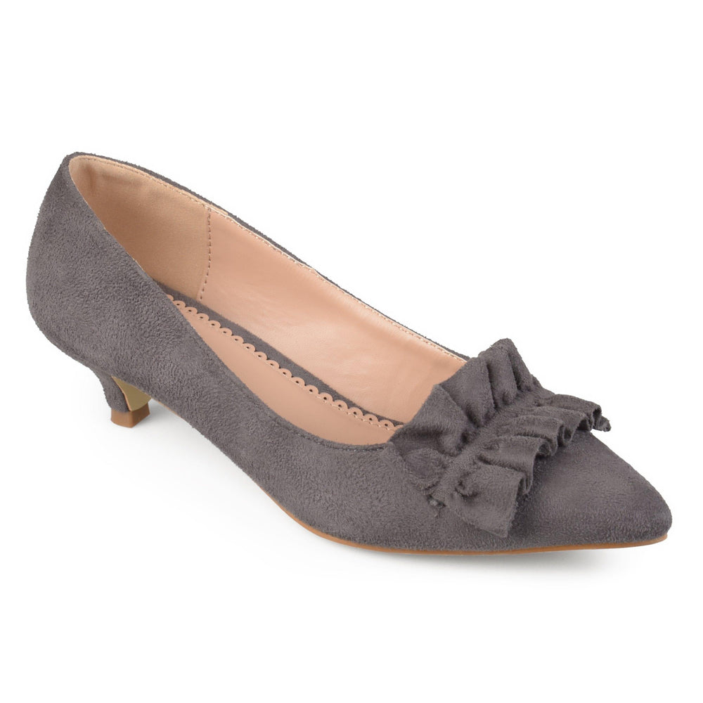SABREE Shoes Journee Collection Grey 5.5
