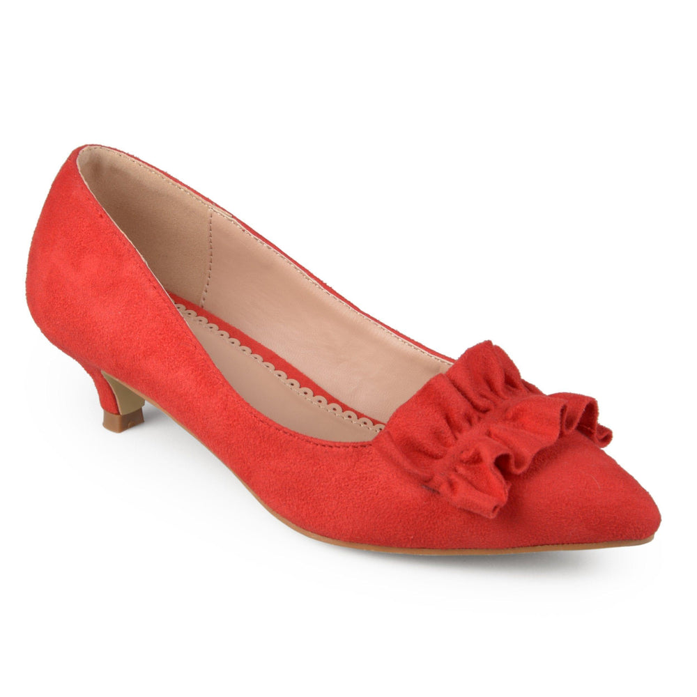 SABREE Shoes Journee Collection Red 5.5