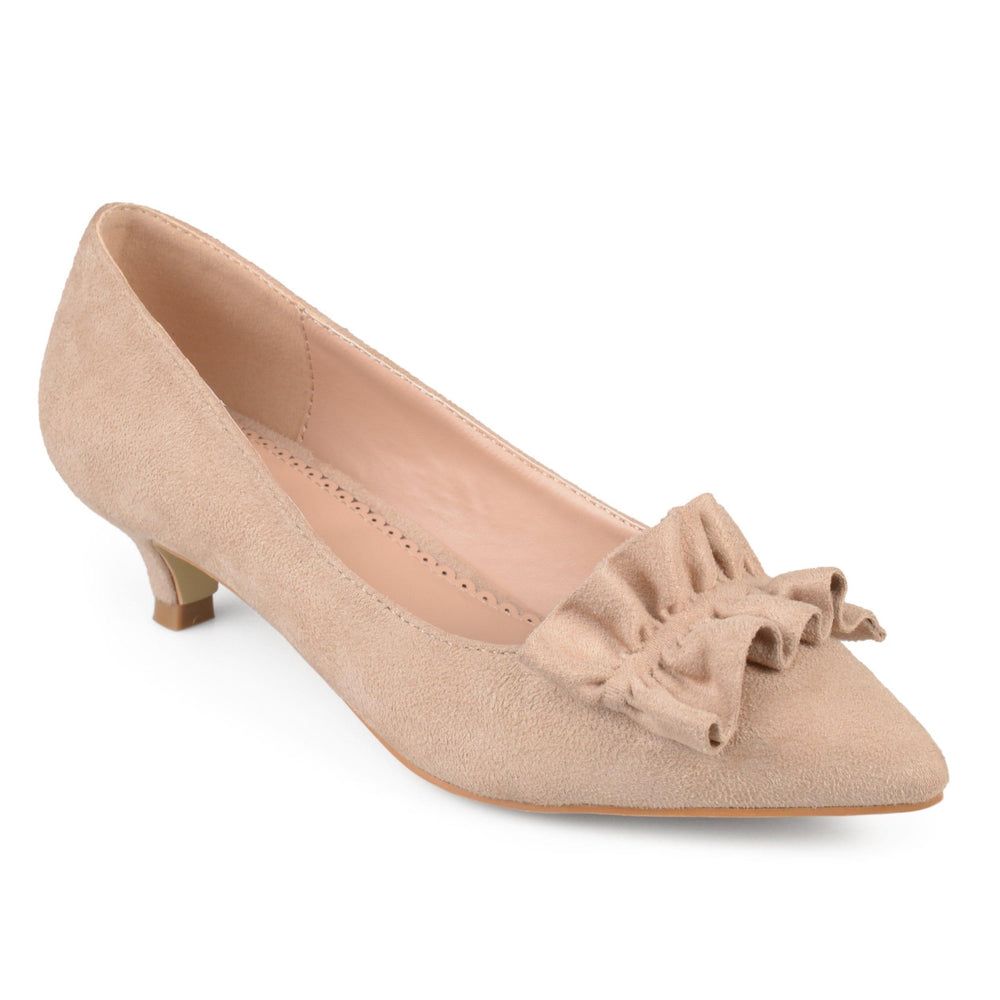 SABREE Shoes Journee Collection Taupe 5.5