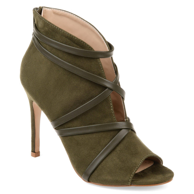 SAMARA Shoes Journee Collection Olive 5.5