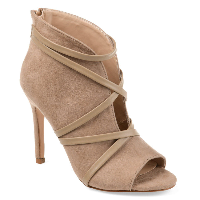 SAMARA Shoes Journee Collection Taupe 5.5