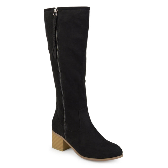 SANORA WIDE CALF Journee Collection Black 6